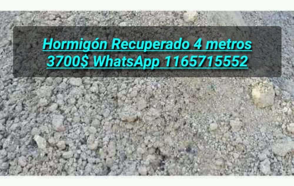 Hormigón Recuperado 4 Metros 3700