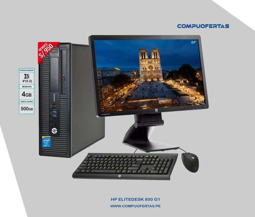 Computadoras Completas Con Monitor HP 23