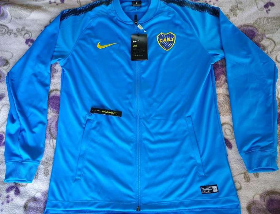 Campera Conjunto Celeste Boca Juniors Nike Track Suit