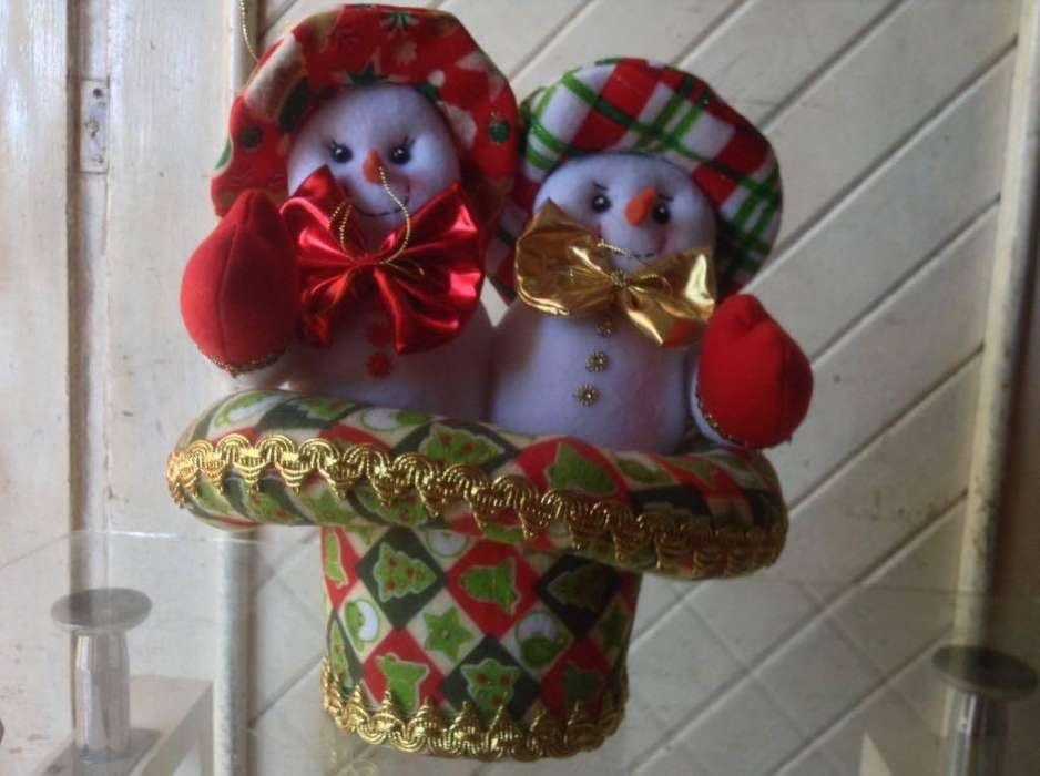 Muñecos de Navidad Amigos por Siempre