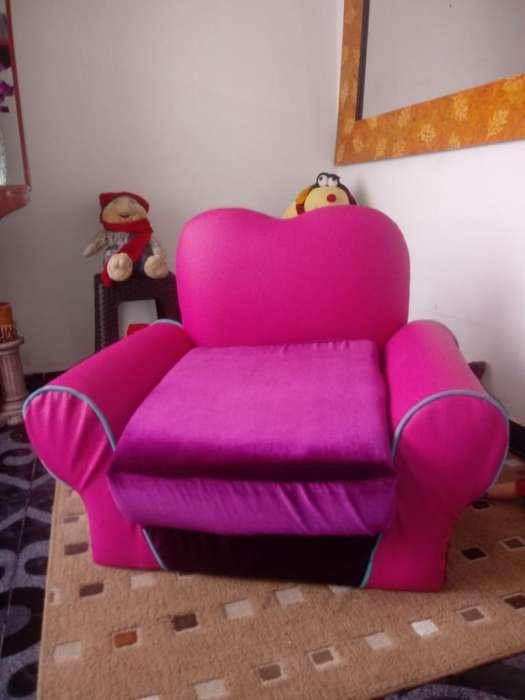 Mueble Sofa Cama para Niña Nuevo para Es