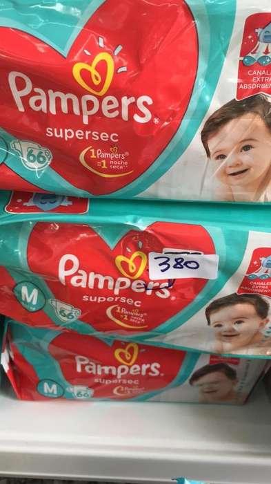 Pañales Pampers