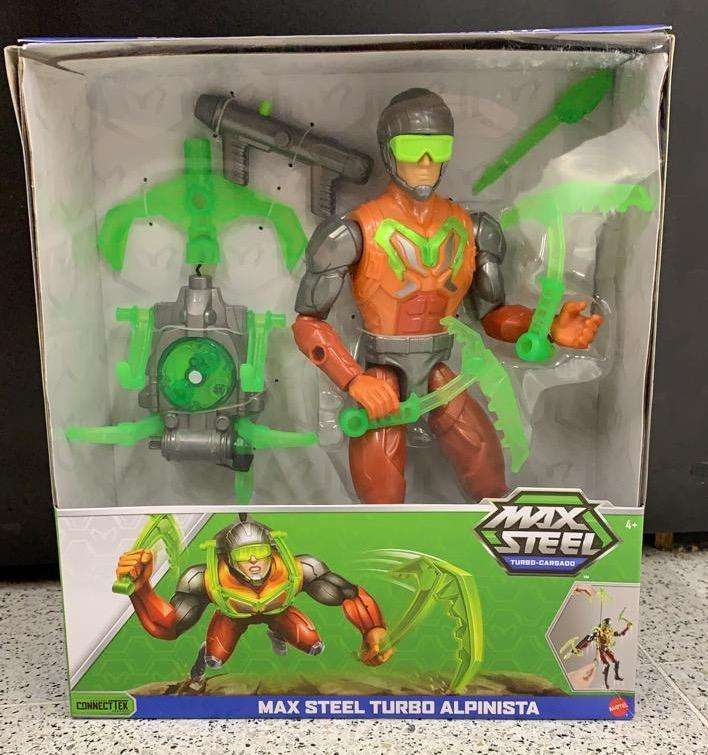 Max Steel Turbo Alpinista