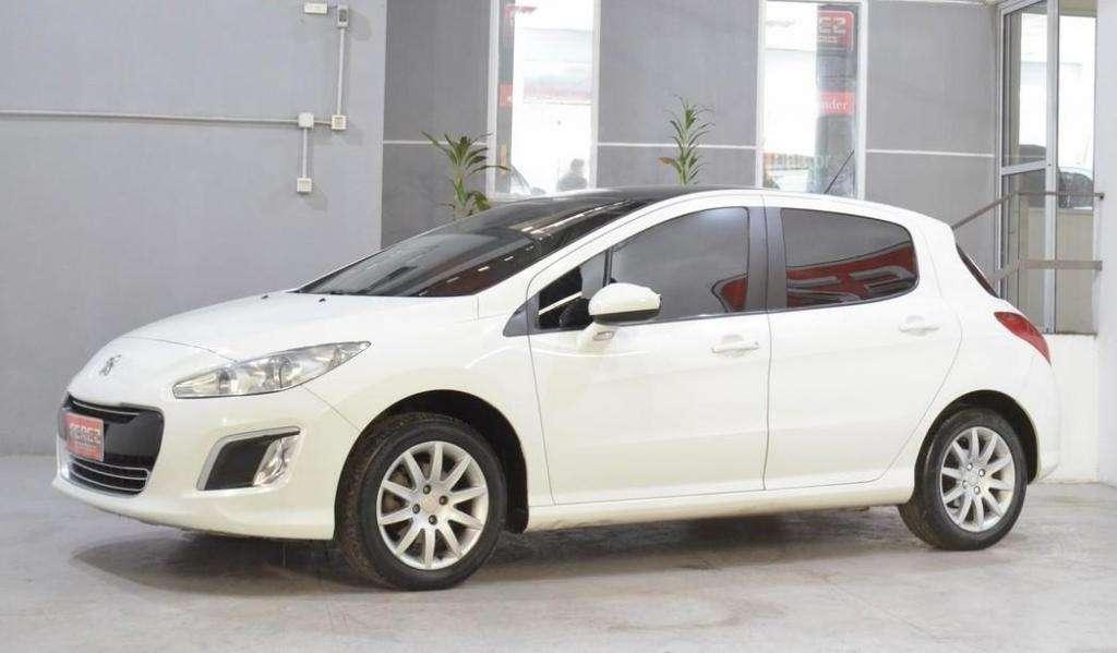 Peugeot 308 allure hdi nav diesel 2012 5 puertas color blanco