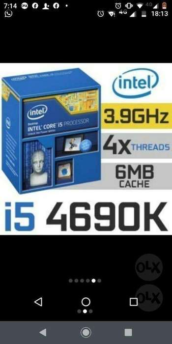 Combo Intel I5 4690k Mother Z97 Asrock