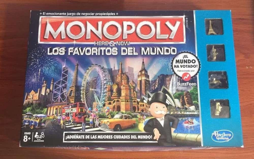 Juego de Mesa Monopoly - Un Solo Uso
