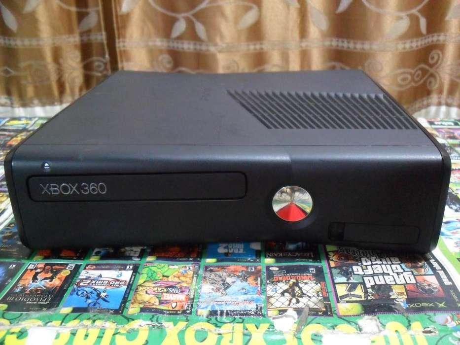 Cambio Vendo Xbox 360 Slim 5.0 Funciona full Solo La Consola