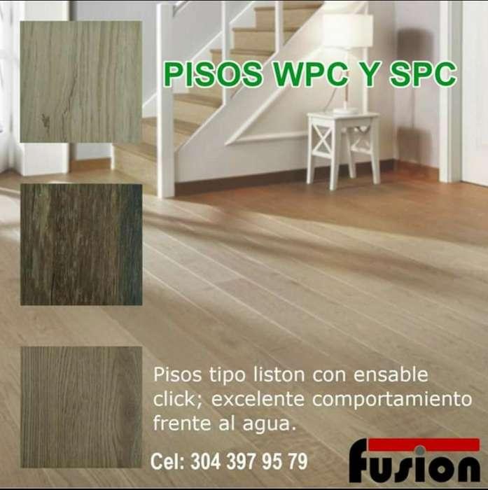 Pisos Pvc - Wpc.