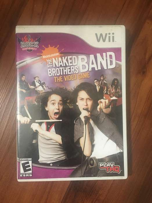 The Naked Brothers Band Juego de Wii