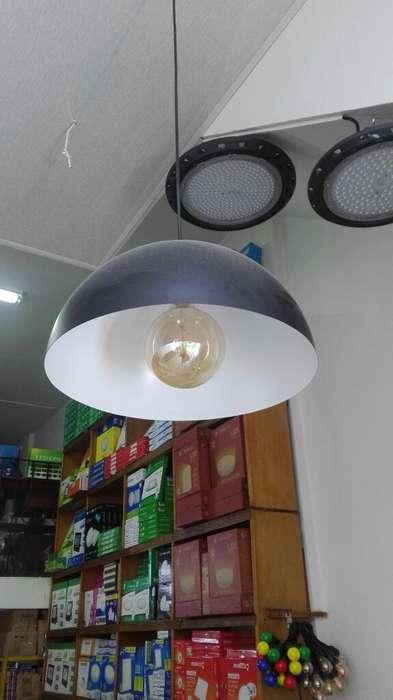 Lampara Campana Decorativa sin Bombillo