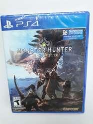 PS4 Monster Hunter World Juego Play Station 4 Nuevo y Sellado