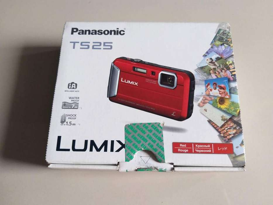 Camara Panasonic TS25 Lumix