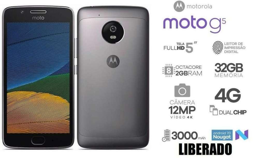 Vendo Motorola G5 (libre) Pantalla 5 '