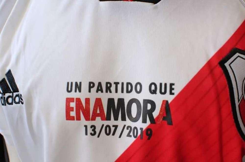 Camiseta de River Despedida de Mora