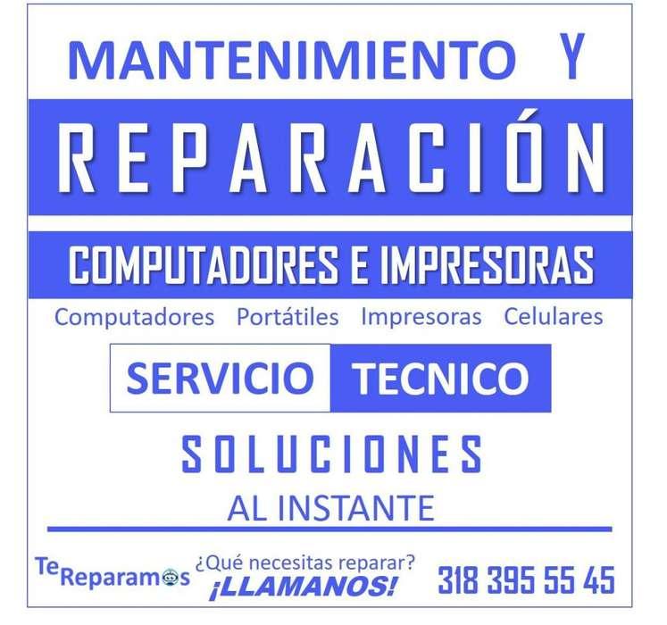 MANTENIMIENTO Y REPARACION DE IMPRESORAS Y COMPUTADORES