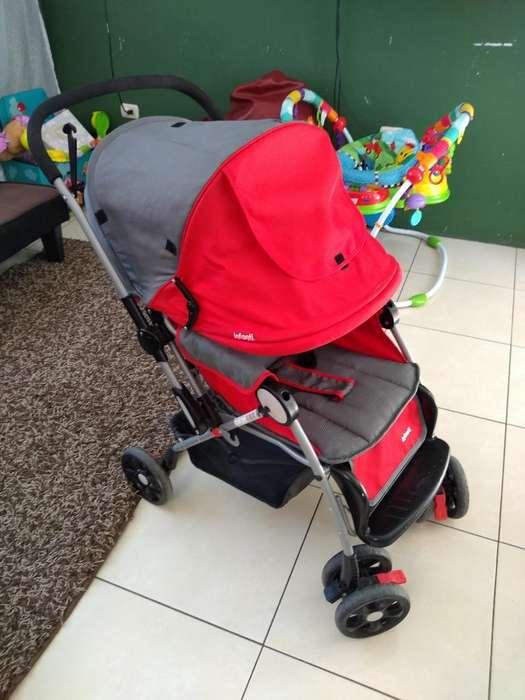 Coche Infanti Rojo 9/10
