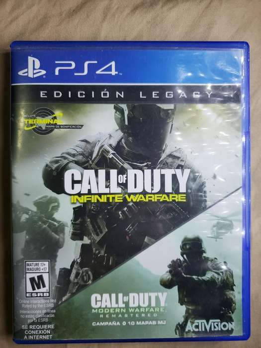 Call Of Duty Iw Ps4
