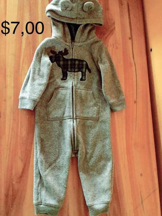 Lote de <strong>ropa</strong> de nino contiene 7 piezas Talla 12 a 18 meses