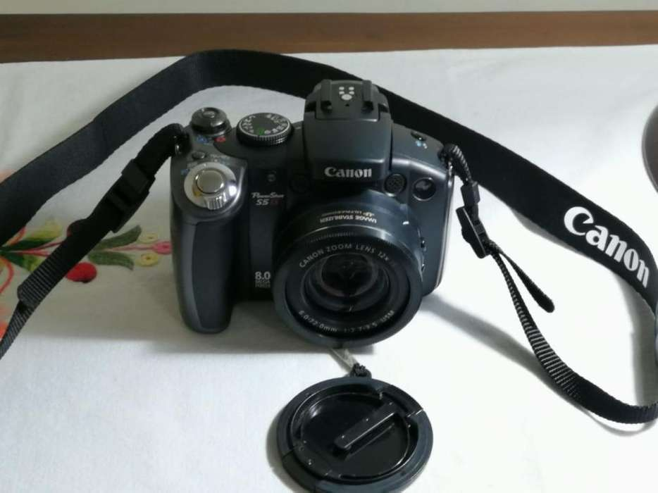 Canon Semi-Pro Flamante Como Nueva