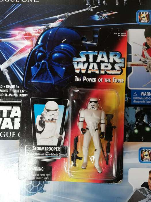 Star Wars The Power Of The Force - STORMTROOPER - Figura Kenner
