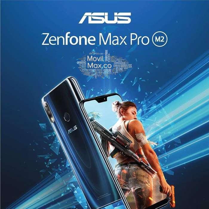 Asus ZenFone Max Pro M2 <strong>bateria</strong> 5.000 mAh Ocho Nucleos 4/64GB Android 8 Sanapdragon 660 Full HD 6,3