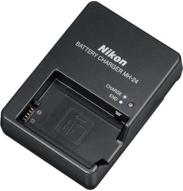Cargador Nikon Mh24 Mh 24 Genuino Usado para Pila ENEL14 Camara Profesional D3300 D5100 D5300