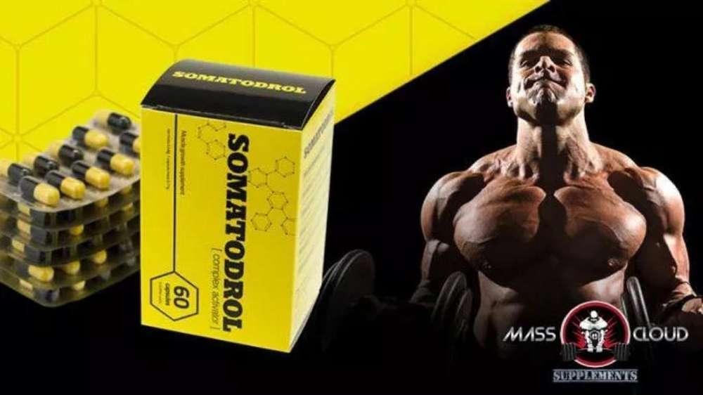 Somatodrol 60 Cap Originales Masa Muscul