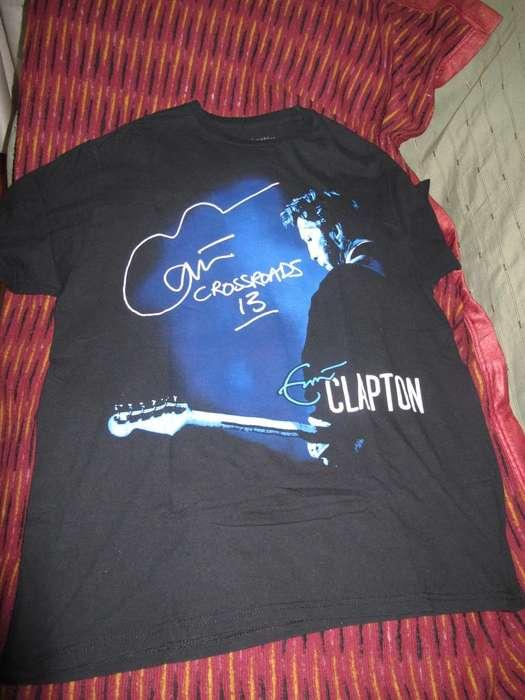 Eric Clapton Crossroads Guitar Festival NY 2013 Remera XL