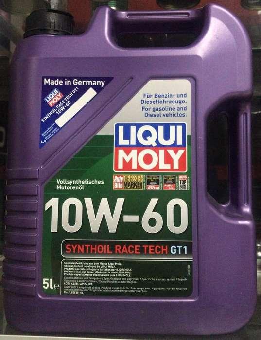Aceite Liqui Moly 10W-60