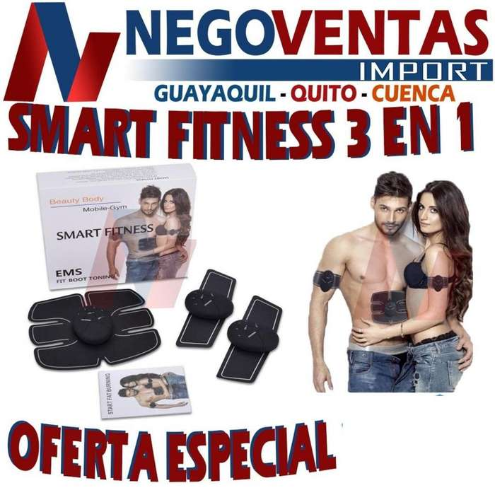 SMART FITNESS 3 EN 1 TONIFICADOR