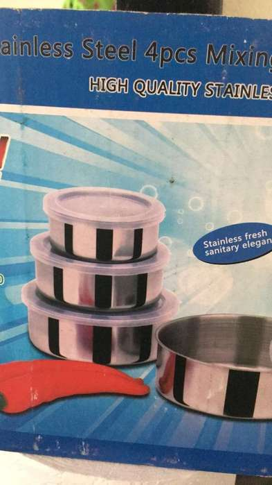 Seet 4 Pcs Stainless