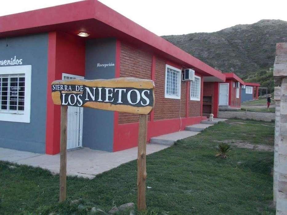 hr23 - Bungalow para 2 a 6 personas con pileta y cochera en Potrero De Los Funes