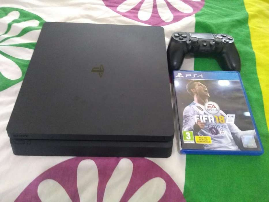 Se Vende O Cambia Play 4 Slim 500 Gb