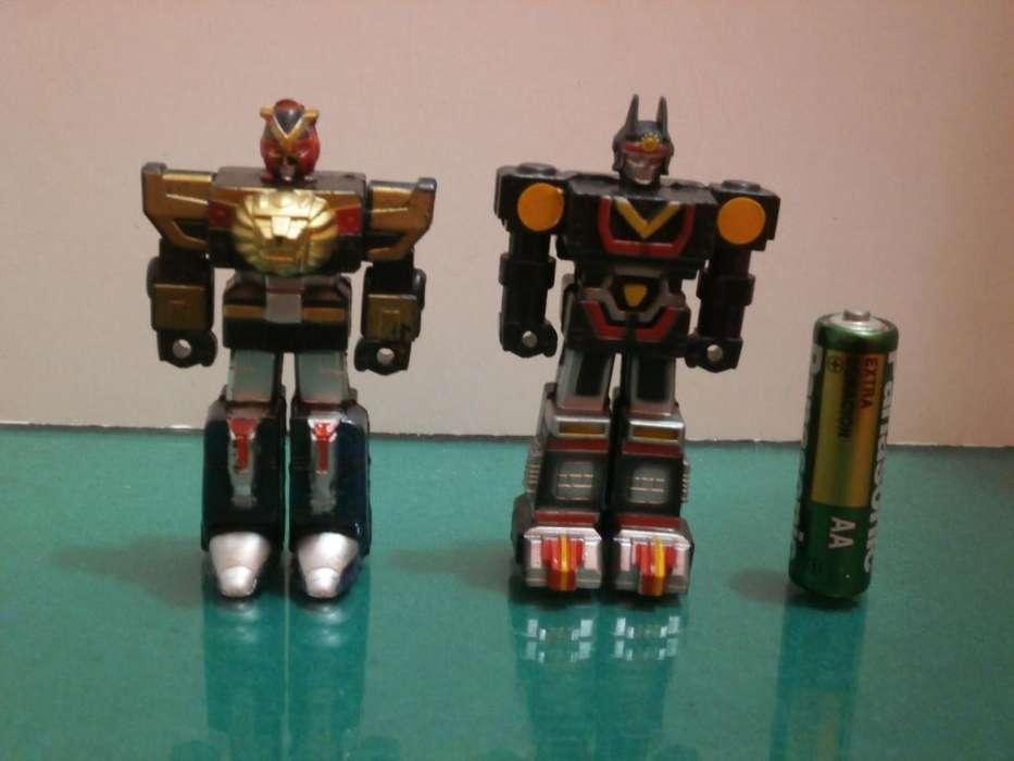 Figuras Mini Sentai Robo Collection: Liveman & Sun Vulcan KO