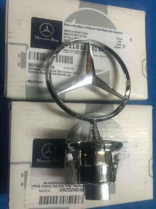 Estrella Capot Mercedes Benz Legítima Germany Clases C y E varios Modelos