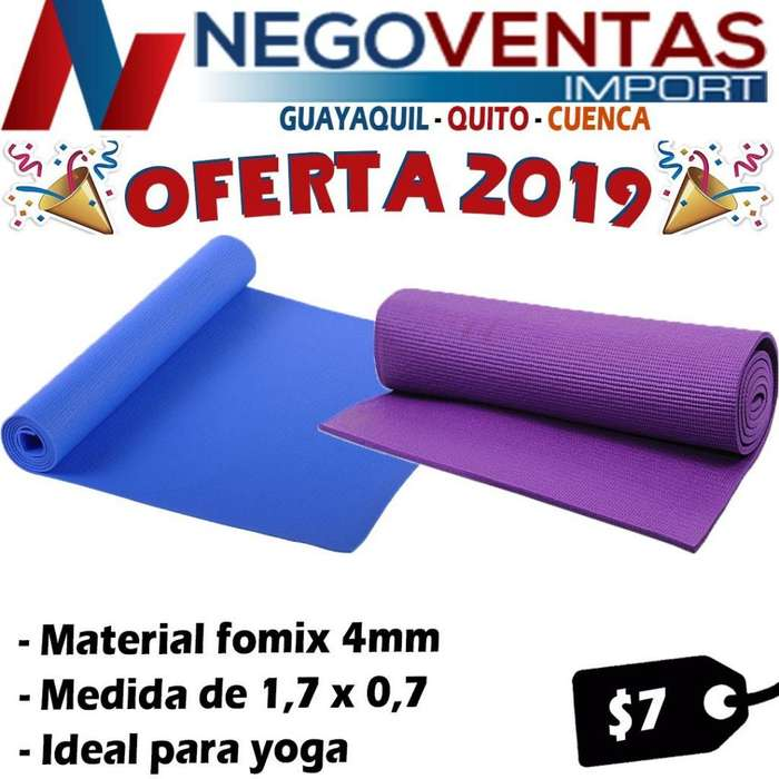 MATT DE YOGA ALFOMBRA DE 4MM IDEAL PARA EJERCICIO