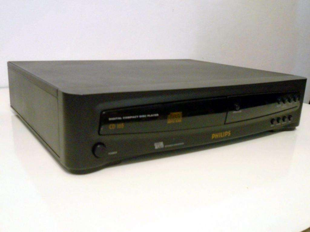 Reproductor De CD Audio PHILIPS CD165 DIGITAL COMPACT DISC PLAYER