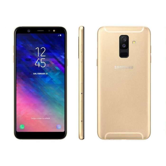 Celular Libre Samsung Galaxy A6 Plus 32gb 6pul 24mp 16mp 4g