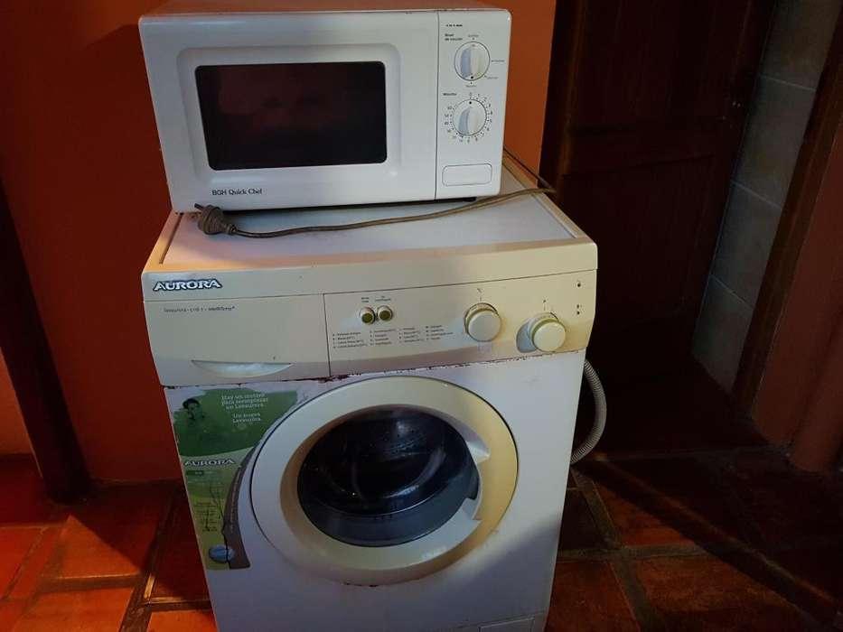 Vendo lavarropa y <strong>microondas</strong> juntos o por separado