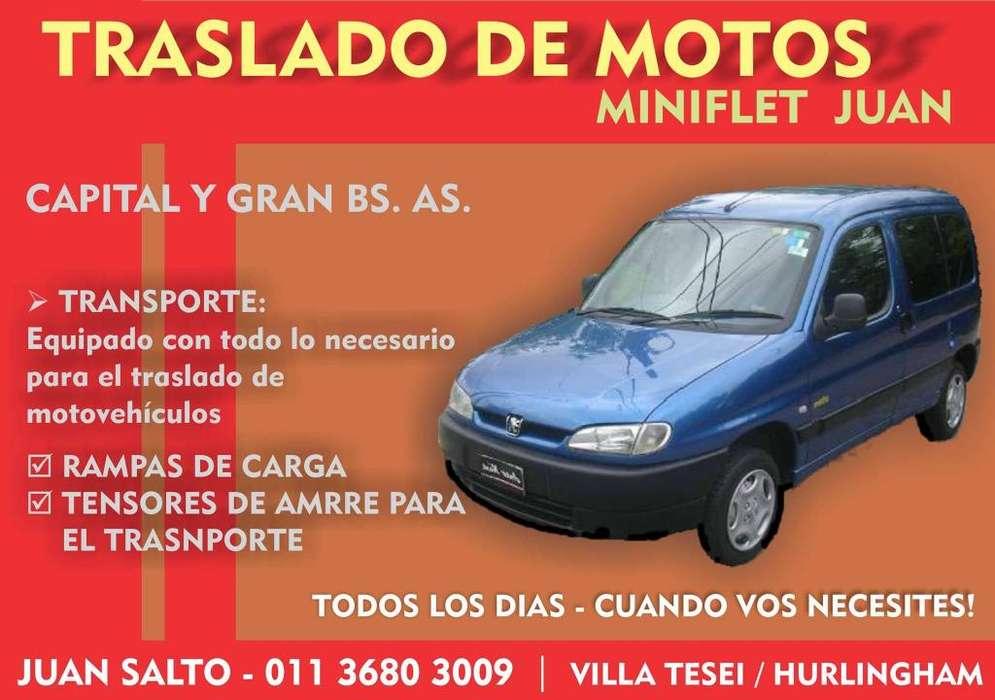 TRASLADO DE MOTOS CAPITAL Y GRAN BS AS
