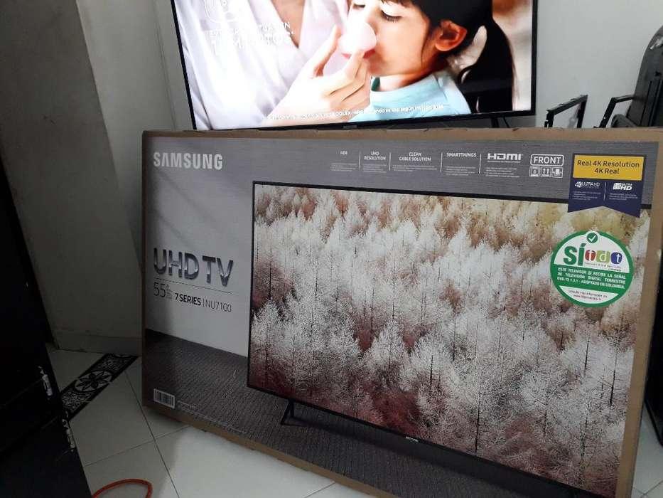 Smart Tv 4k Samsung 55 Nuevo 1 Año Gara