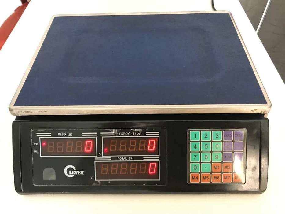 VENDO Bascula electrónica pesa LEVER hasta 30 Kg