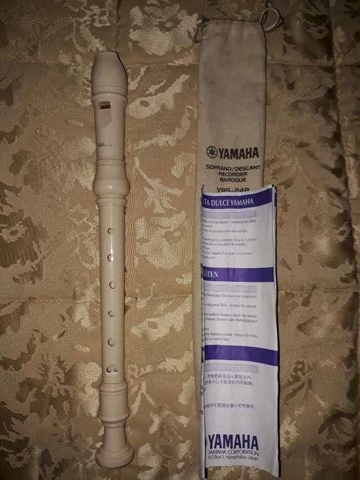 Flauta Yamaha Soprano,descant Recorder