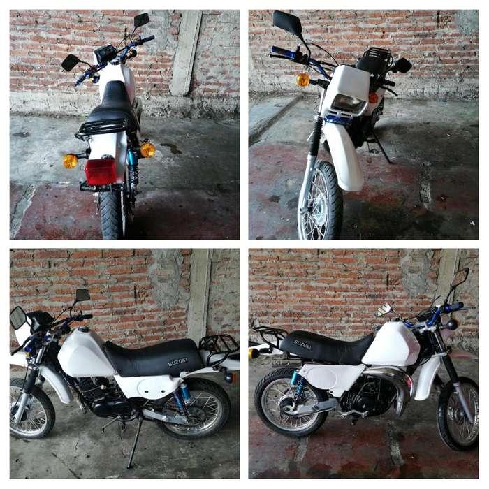 Moto SUZUKI TS 185 ao 2001 matriculada 2019