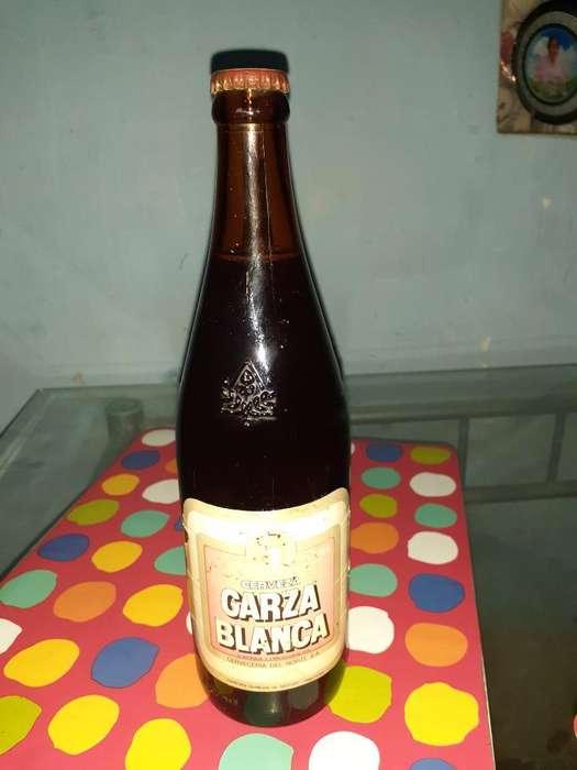 Cerveza Antigua Garza Blanca Sellada