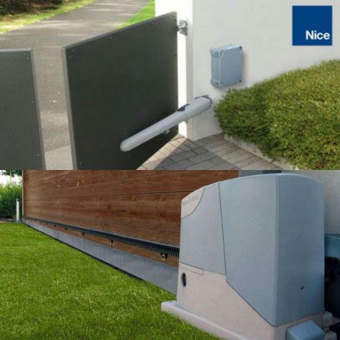 Sistemas para la automatización de puertas NICE