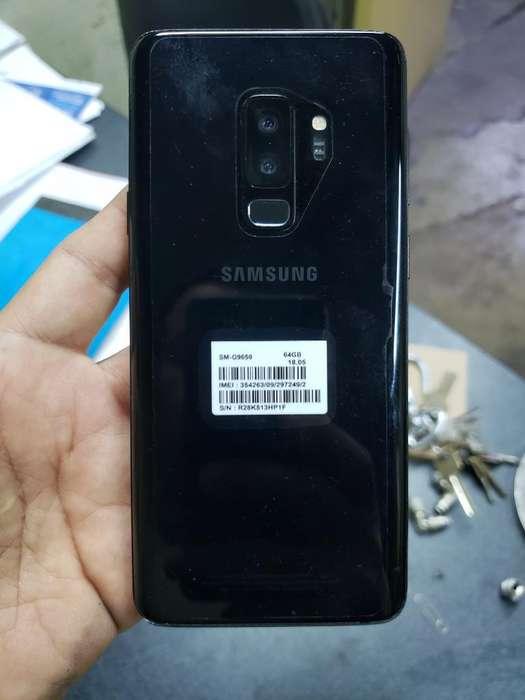 Vendo Galaxy S9 Plus con Detalle