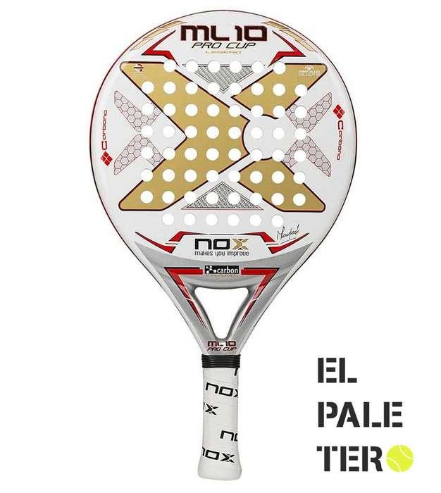Paleta Padel Nox Ml 10 Pro Cup Legend Nacional