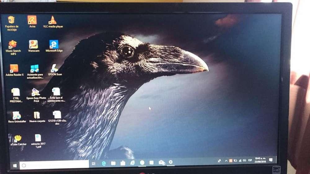 Monitor Led Lg 19en33 Usado