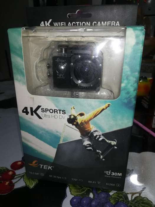 Camara TEK 4K Sports Ultra HD DV